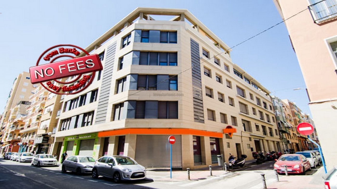Flat for sale in a recently constructed building located in the centre of Alicante city