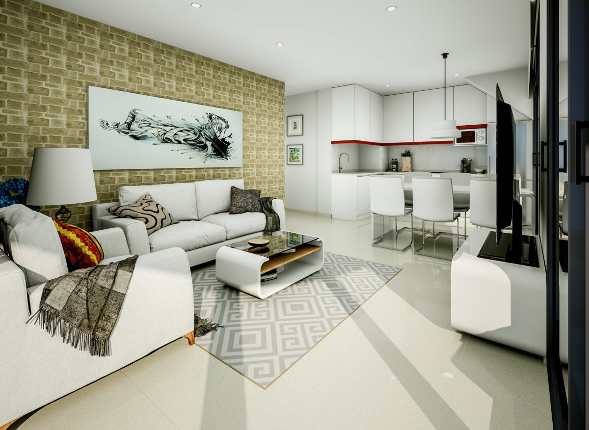 New Construction Apartments in Torrevieja Center