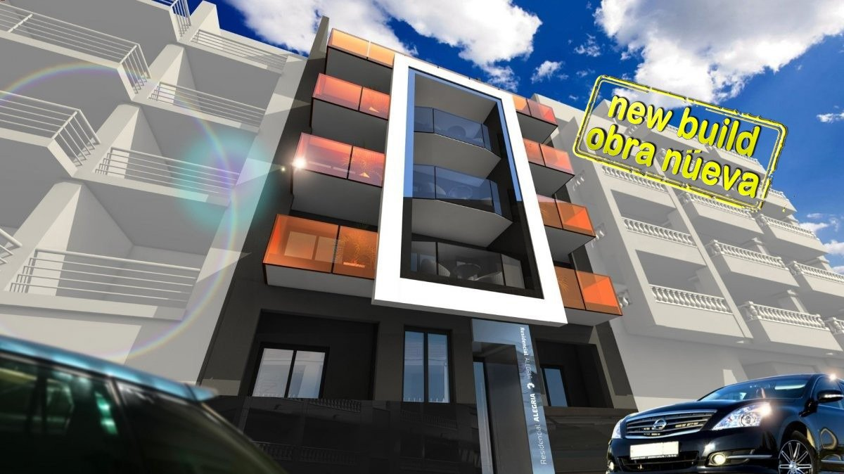Beautiful New Construction Apartments in Torrevieja