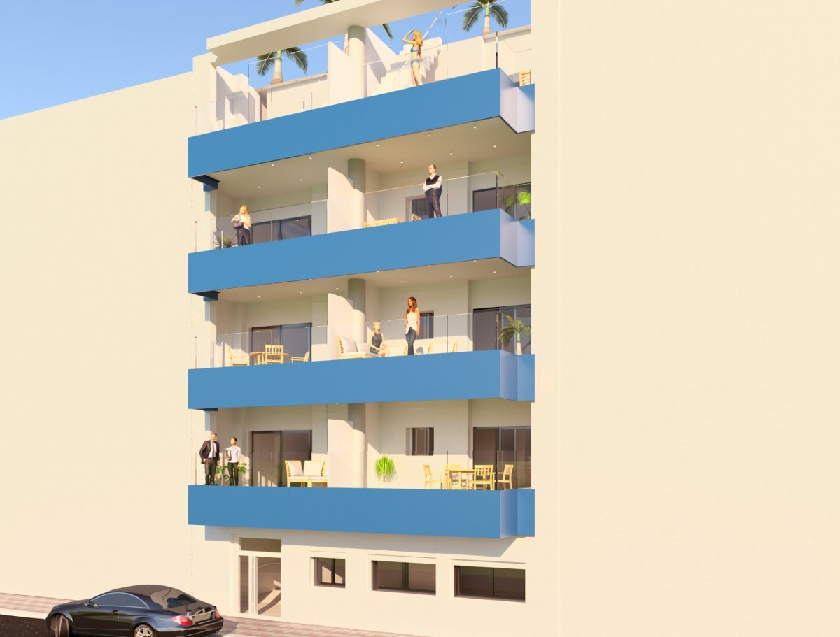 New Construction Apartments in Torrevieja