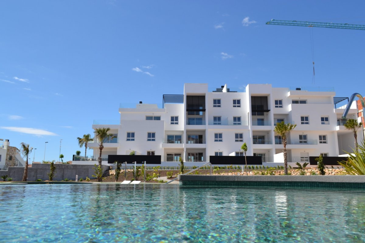 Stunning Residential of New Construction in Torrevieja .