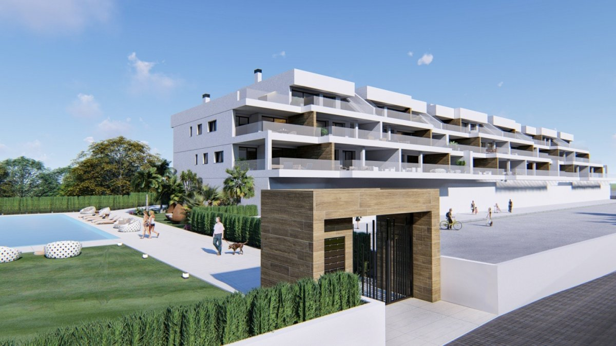 New Residential Apartment with sea views in Orihuela Costa