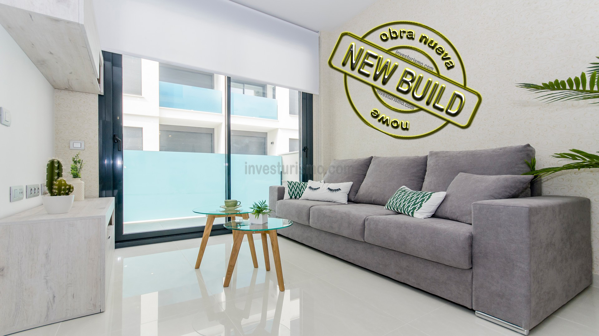 New build 1-2 or 3 bedrooms apartments in Torrevieja Center