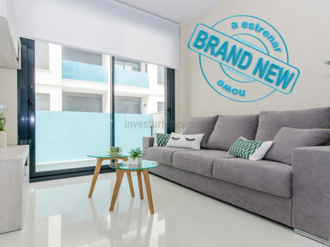 Brand New 3 bedrooms apartment in Torrevieja
