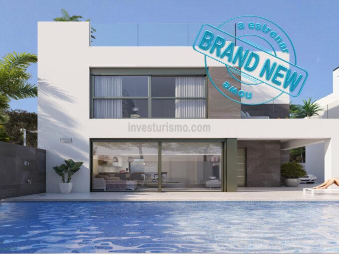 Brand new 4 bedrooms detached villa in Orihuela Costa