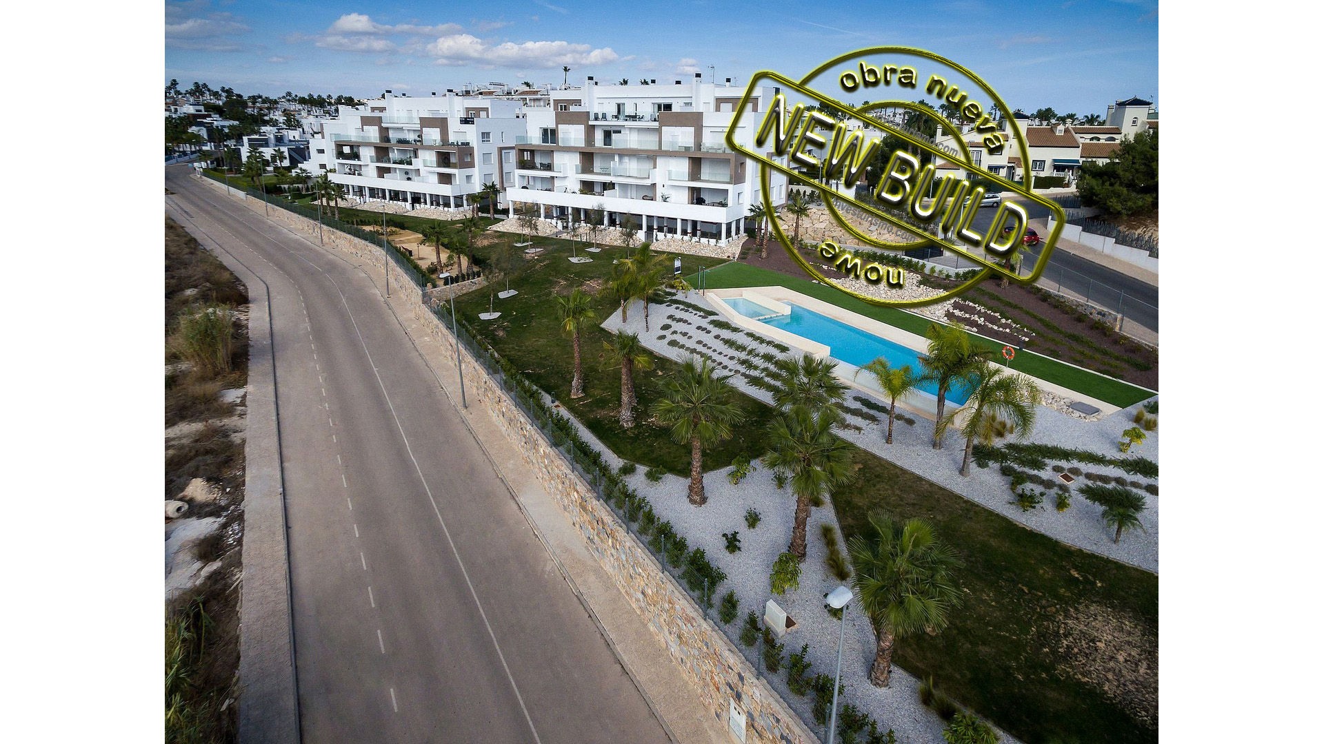 New Build apatments 2-3 bedrooms in Orihuela Costa