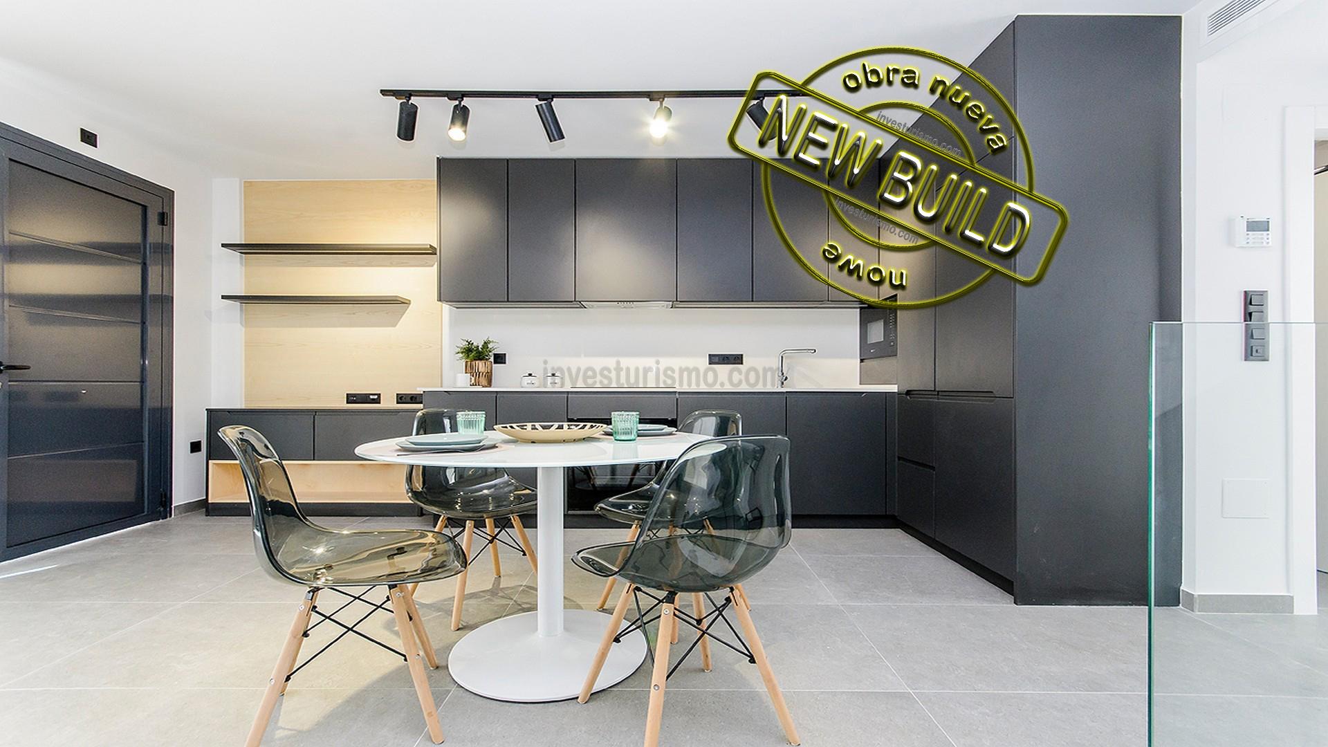 New build 3 bedrooms Townhouses in Guardamar