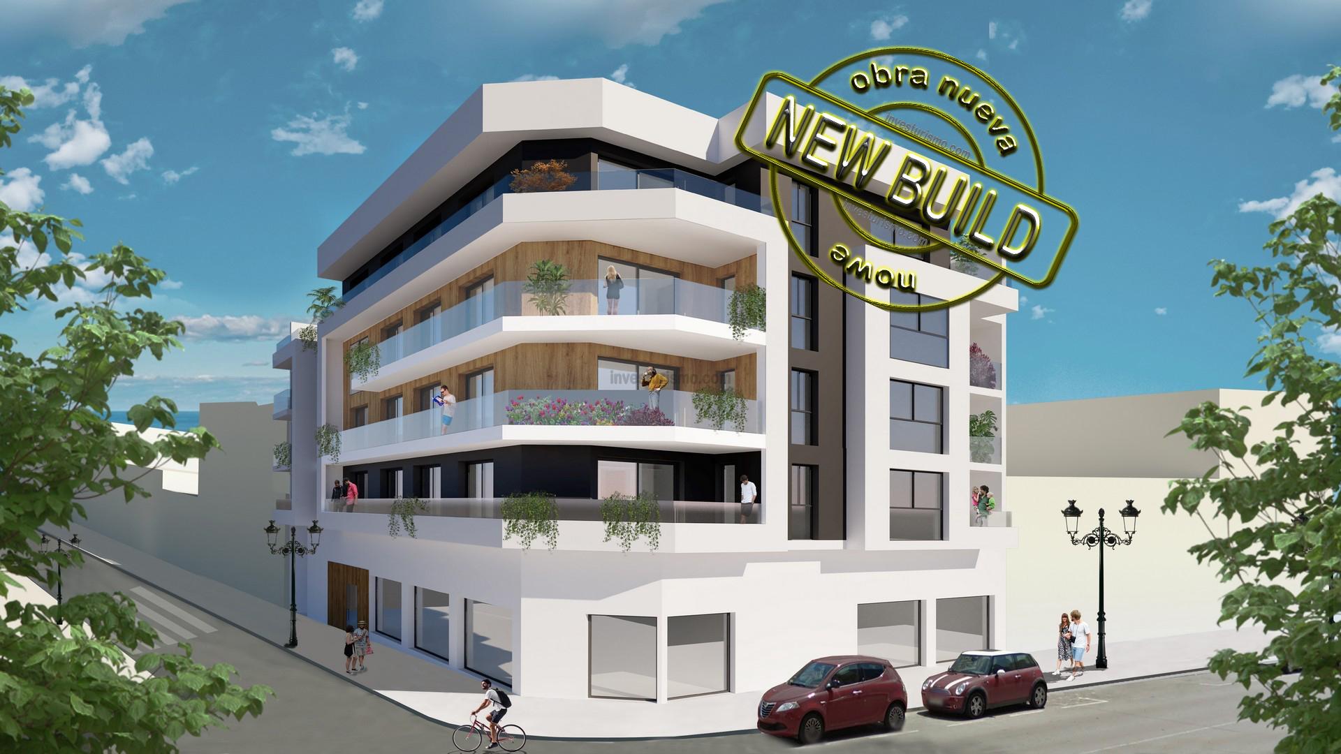 New build Apartments 2-3 bedrooms in Guardamar