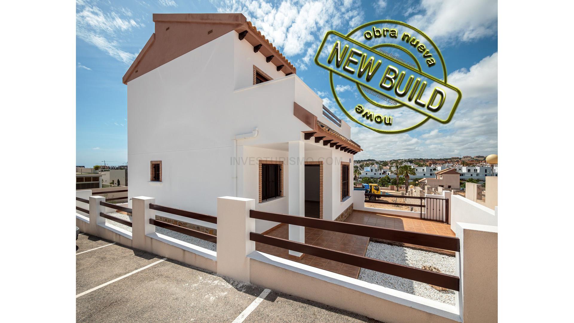 Fantastic townhouse 1-3 bedrooms in Orihuela costa