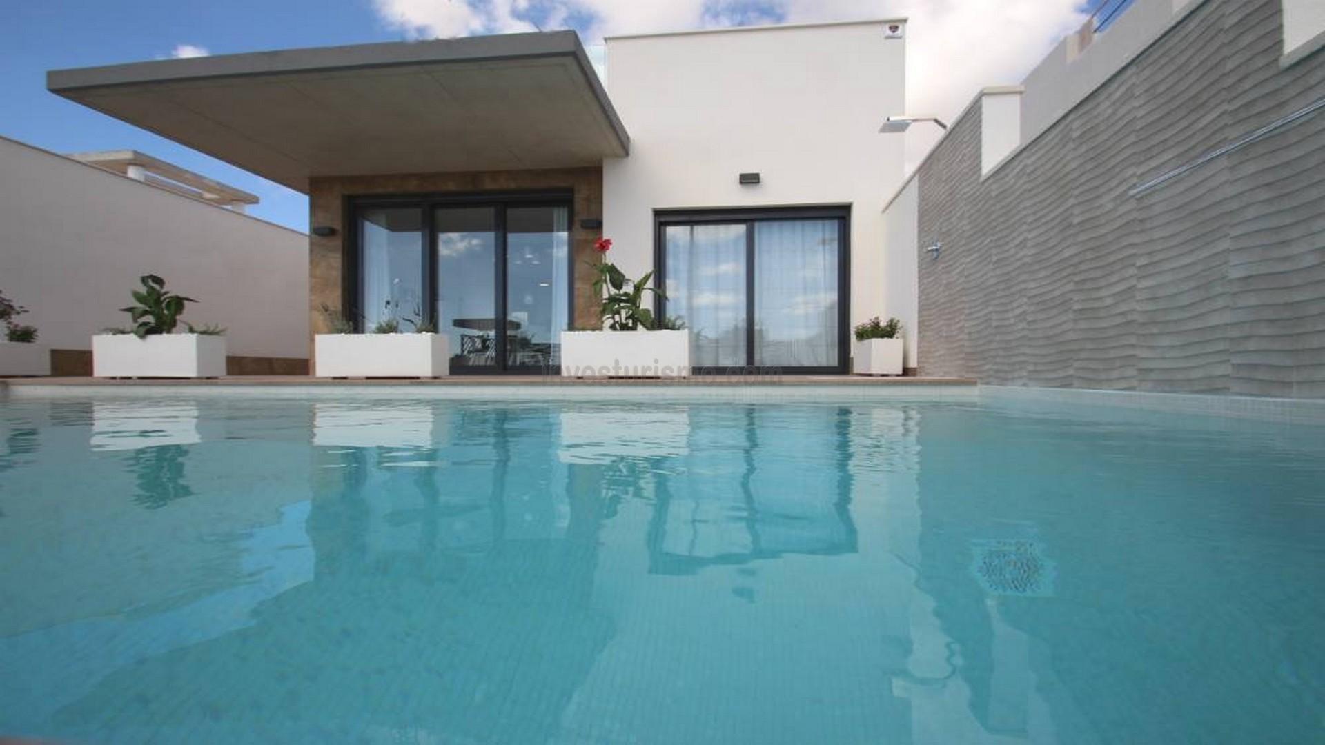 New Build villas 3 bedrooms in Alicante (castalla)