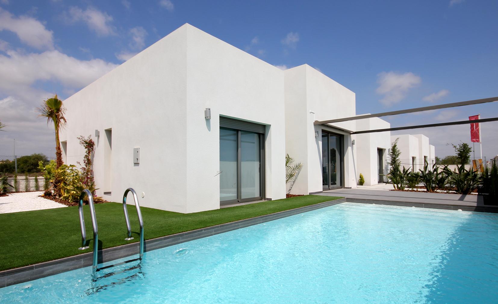 New Build villas 3 bedrooms 2 bathrooms in Benijofar