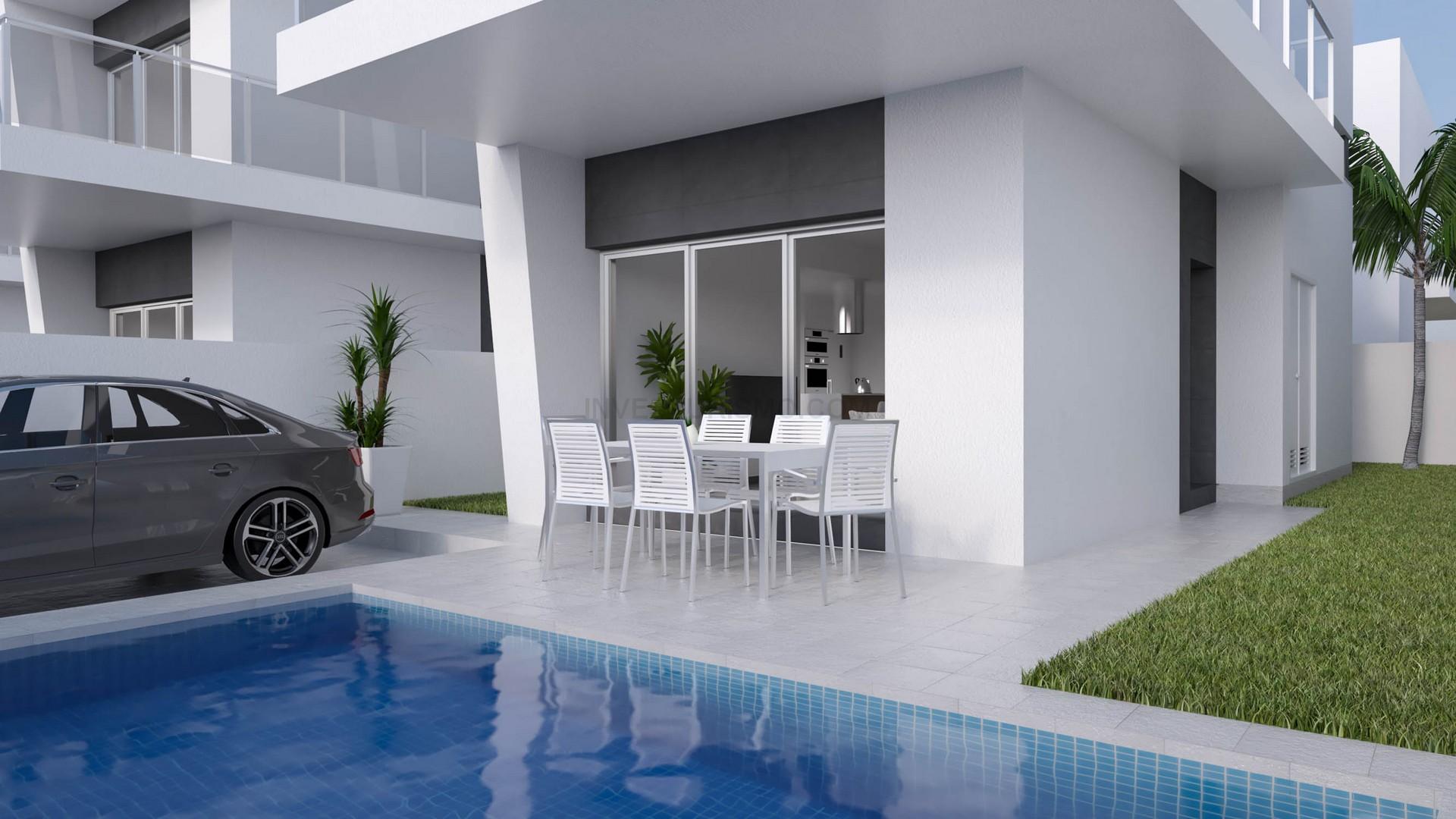New build semi-detached villas 3 bedrooms in Daya Vieja