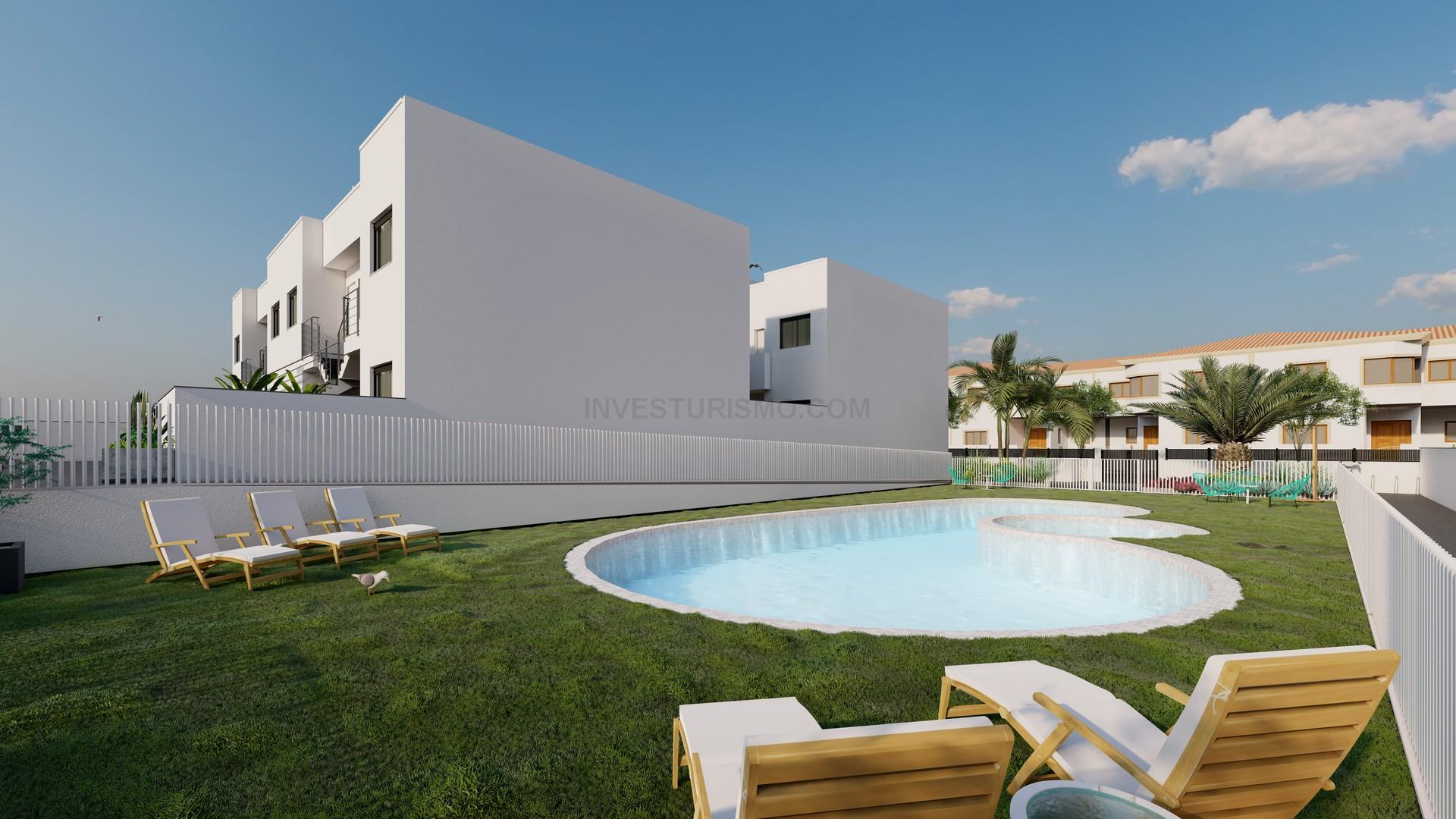 New build Bungalows 2 bedrooms in Torre de la horadada
