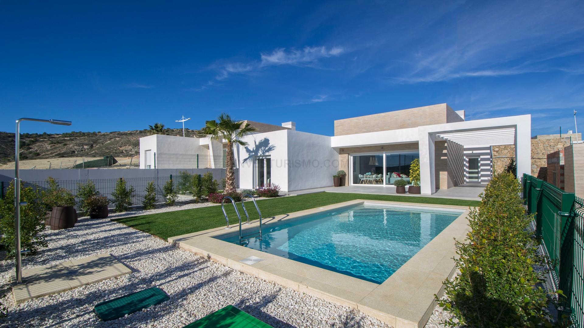 New Build Detached villa 3 bedrooms in Algorfa