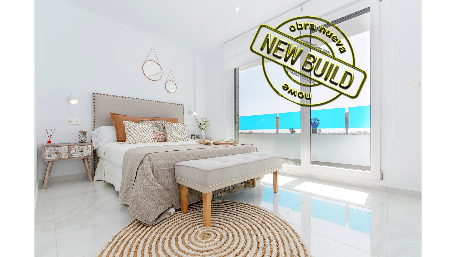 New build Semi-detached villas 3 bedrooms in Torrevieja