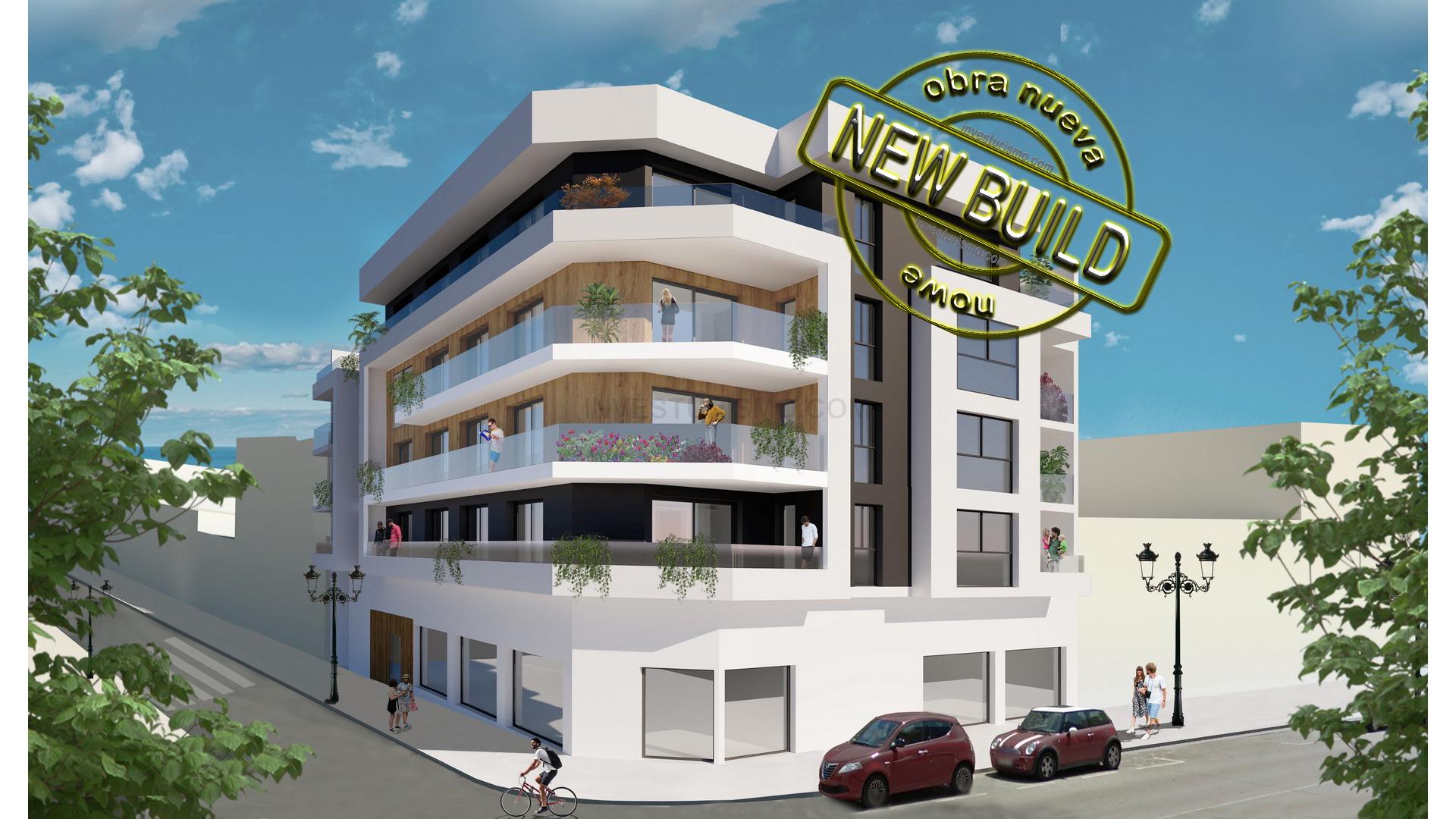 New build villas 3 bedrooms in Guaradamar del Segura