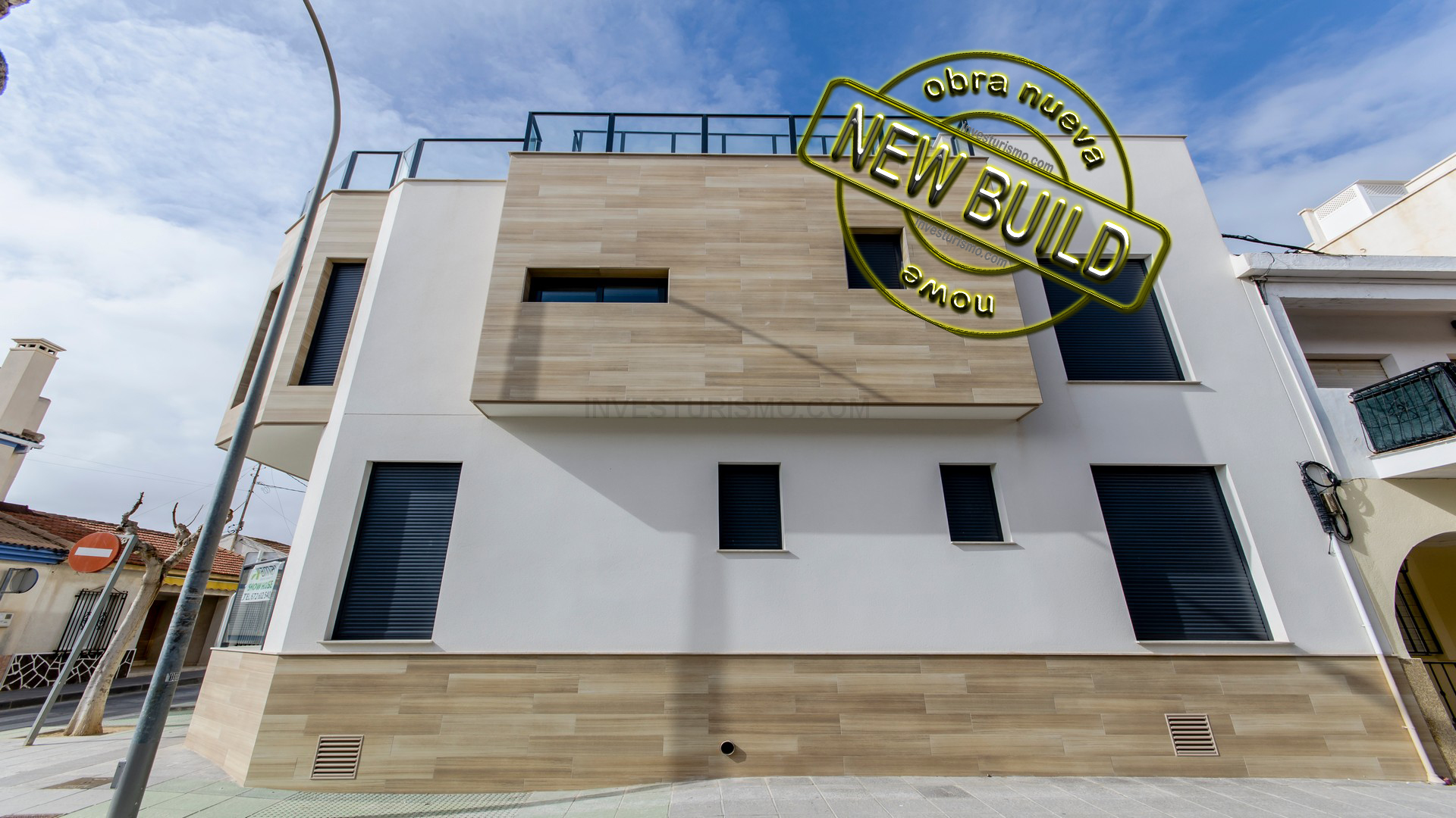 New build villas 2 bedrooms in Torre de la Horadada
