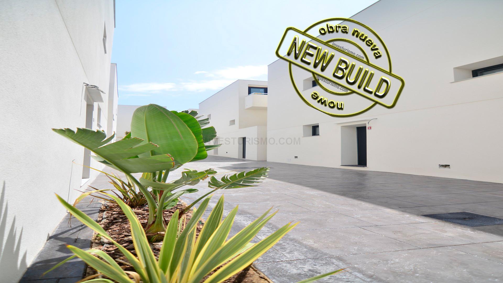 New build villas 3-4 bedrooms in Torrevieja