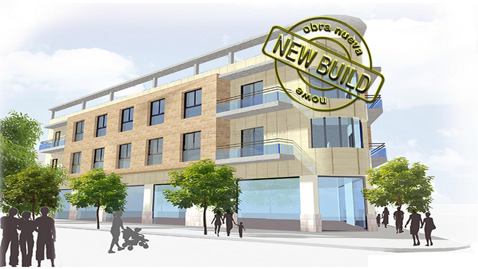 New Build apartment 2 bedrooms in San miguel de Salinas