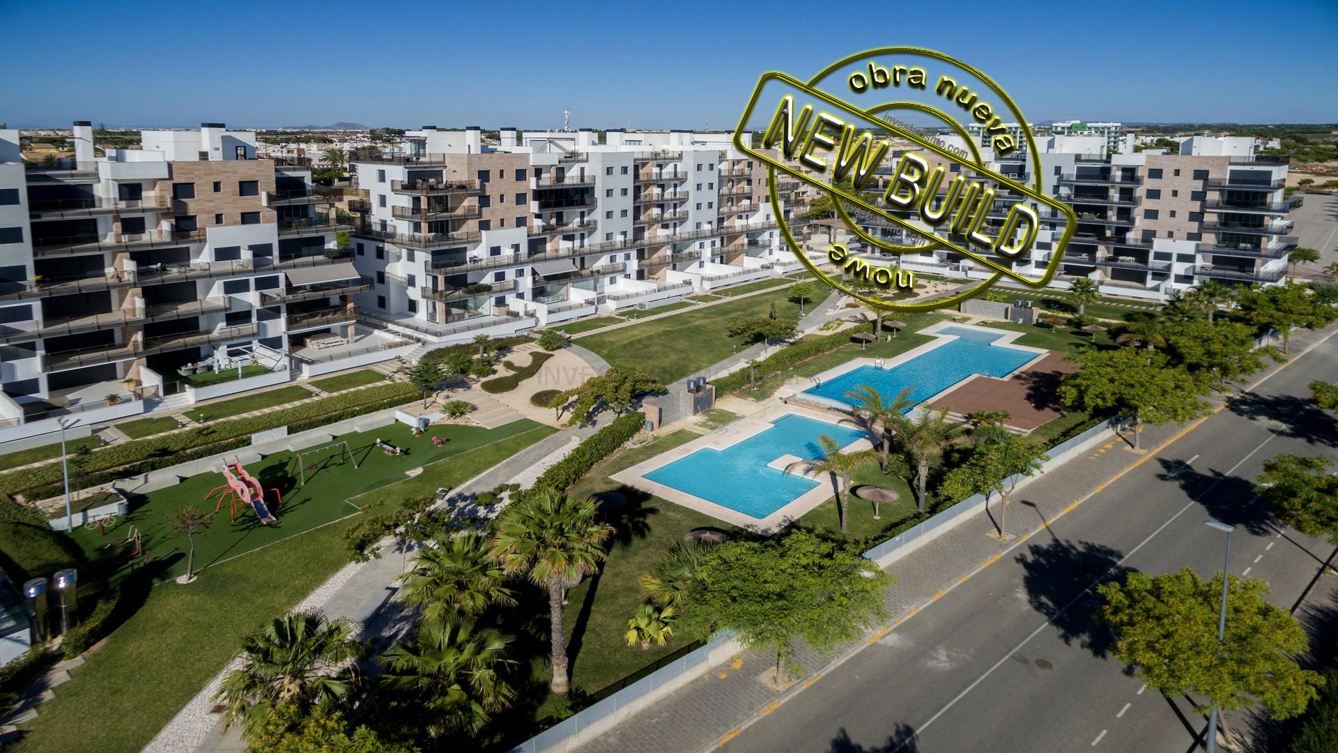 New Build Penthouses 3 bedrooms in Pilar de la Horadada