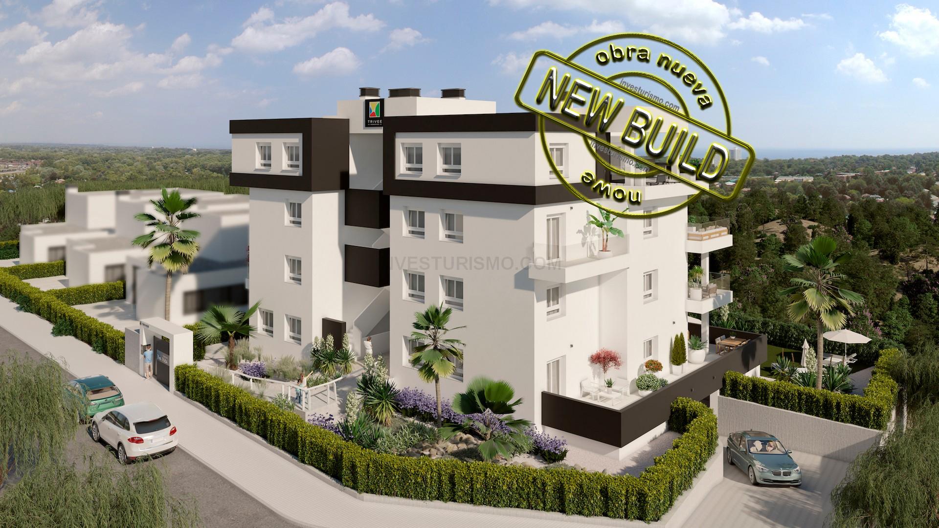 New build apartments 2-3 bedrooms in Orihuela Costa