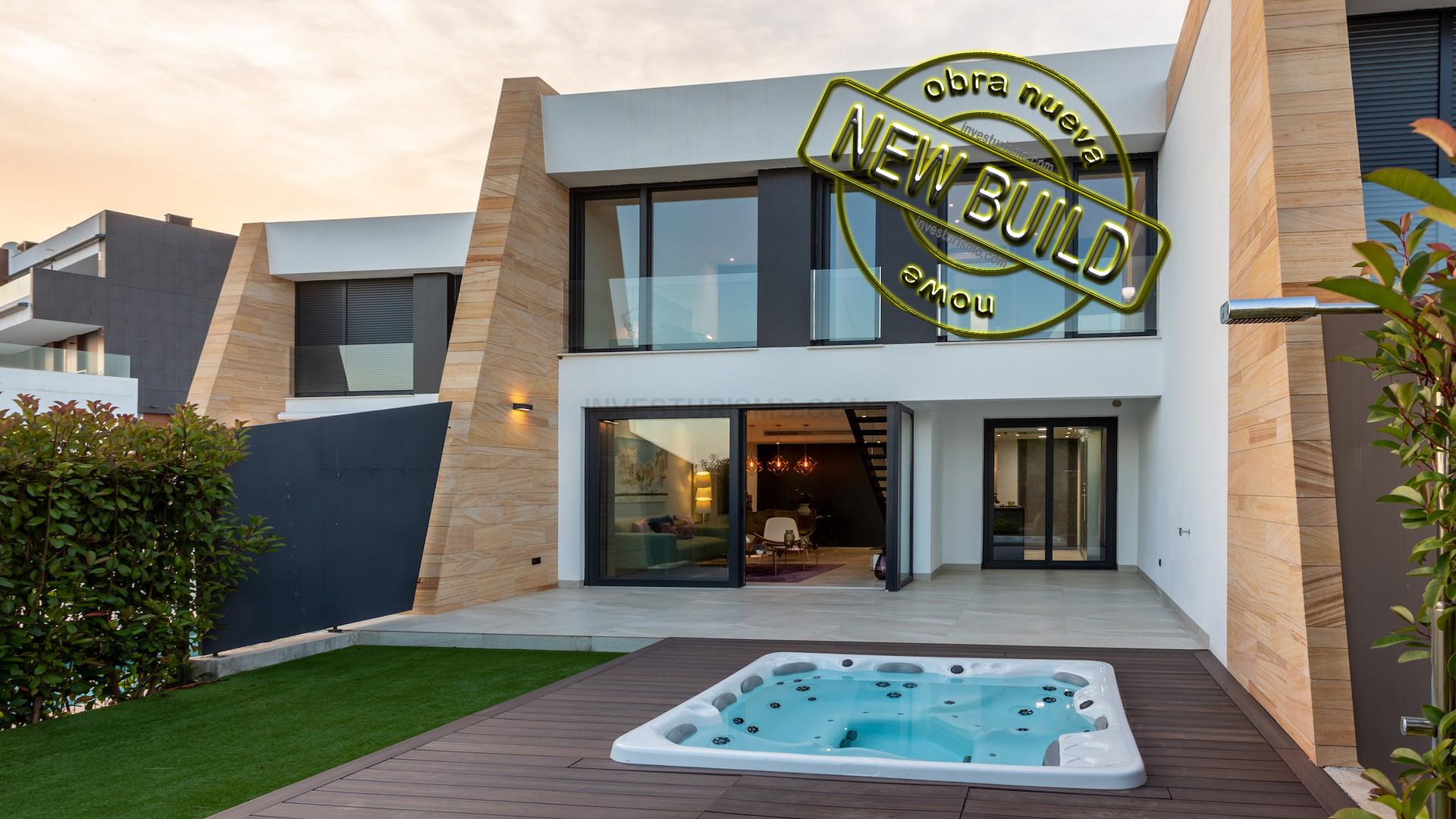 New Build Semi-Detached Villas 3 bedrooms in Orihuela costa