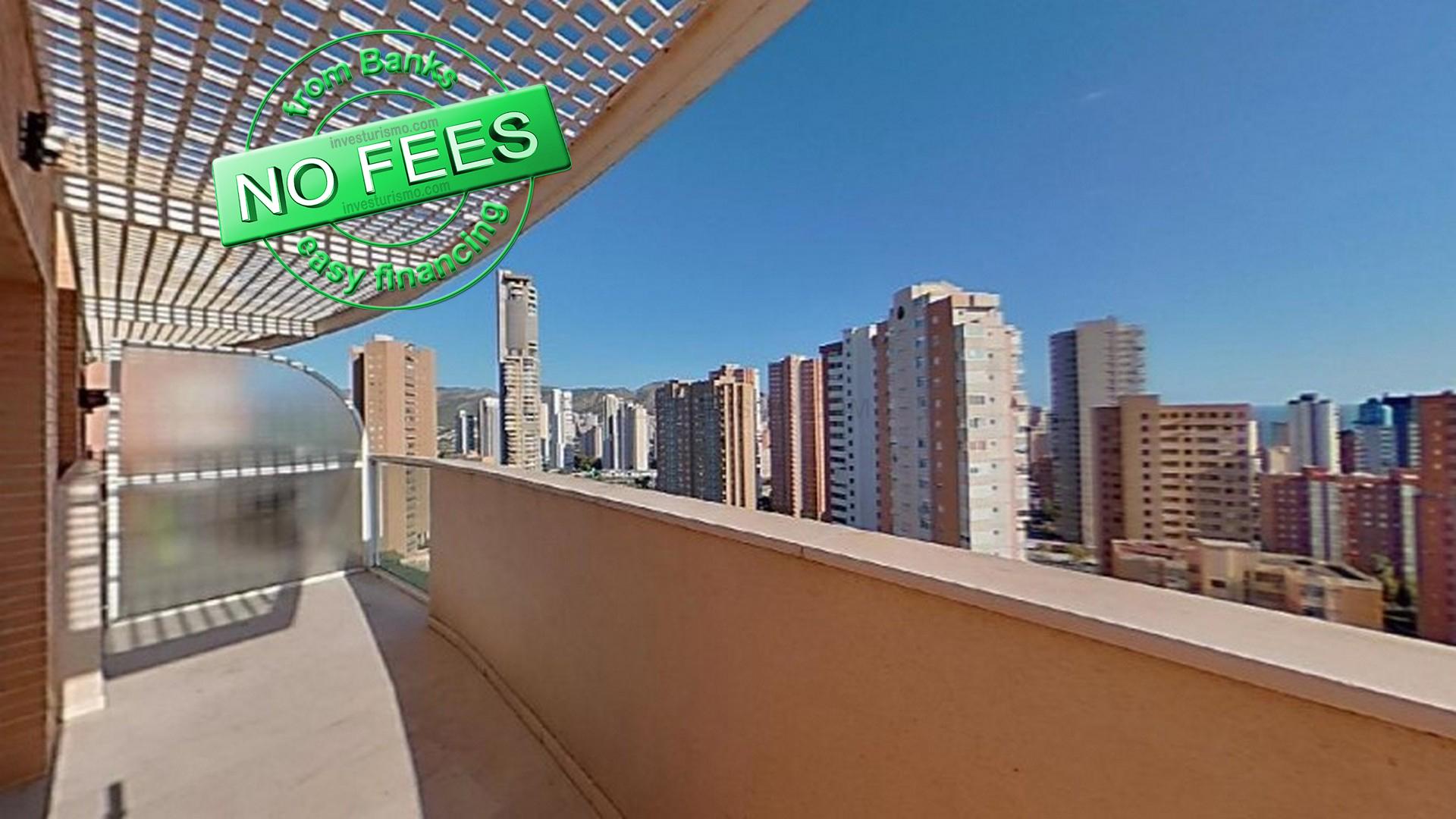 Apartment 2 bedrooms 1 bathroom in Benidorm, Alicante