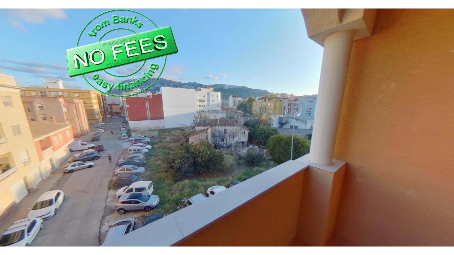 Apartment 3 bedrooms 2 bathrooms in Denia