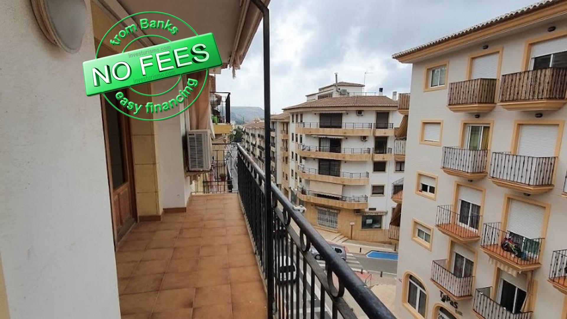 Apartment 4 bedrooms 2 bathrooms in Javea-Centro