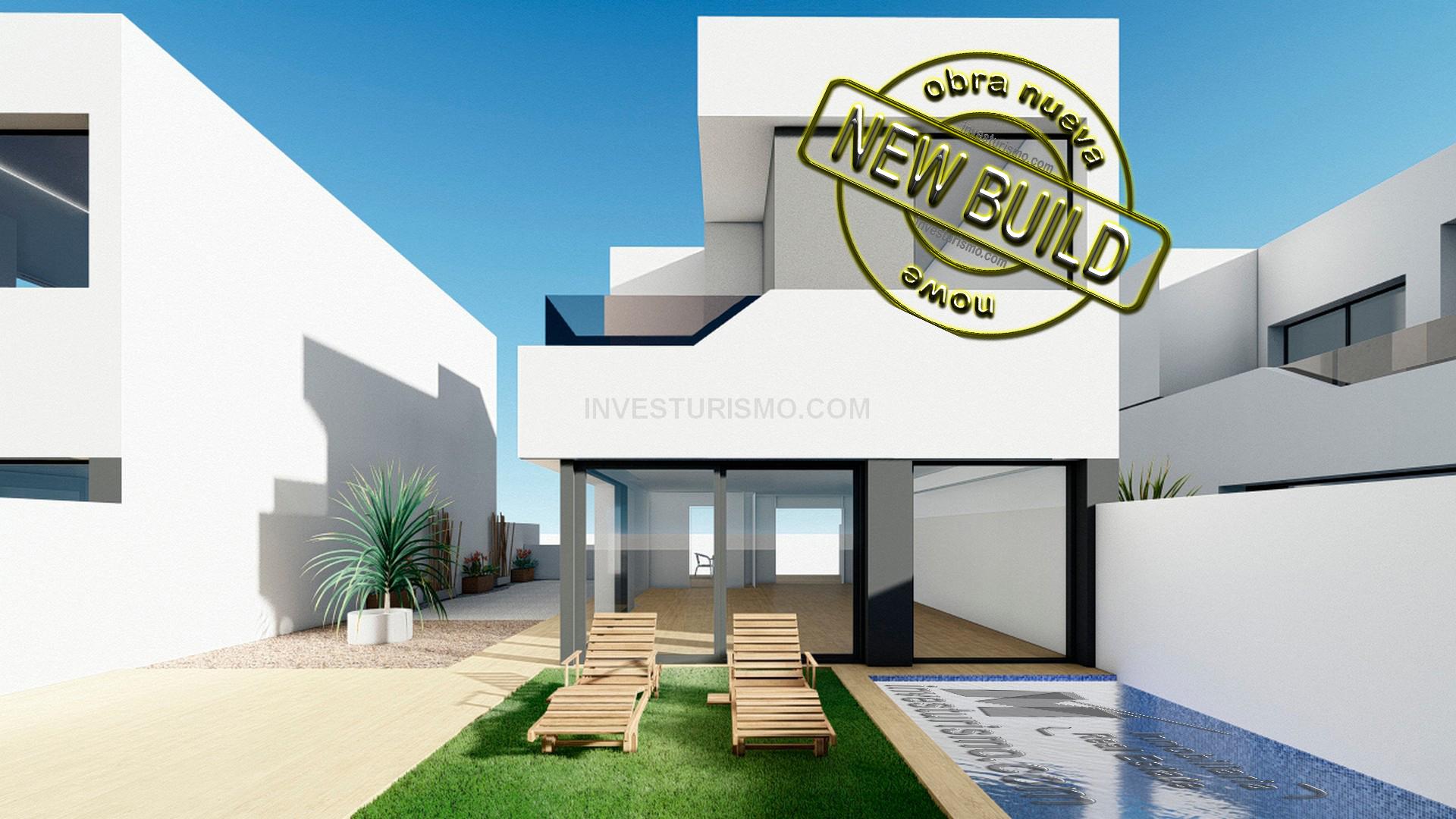 New Build villas 3 bedrooms 2 bathrooms in Rojales