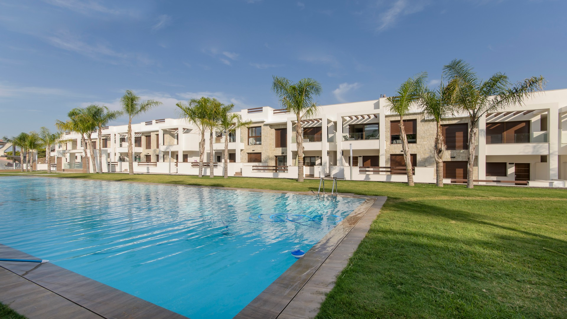 New build villas 3 bedrooms in Torrevieja