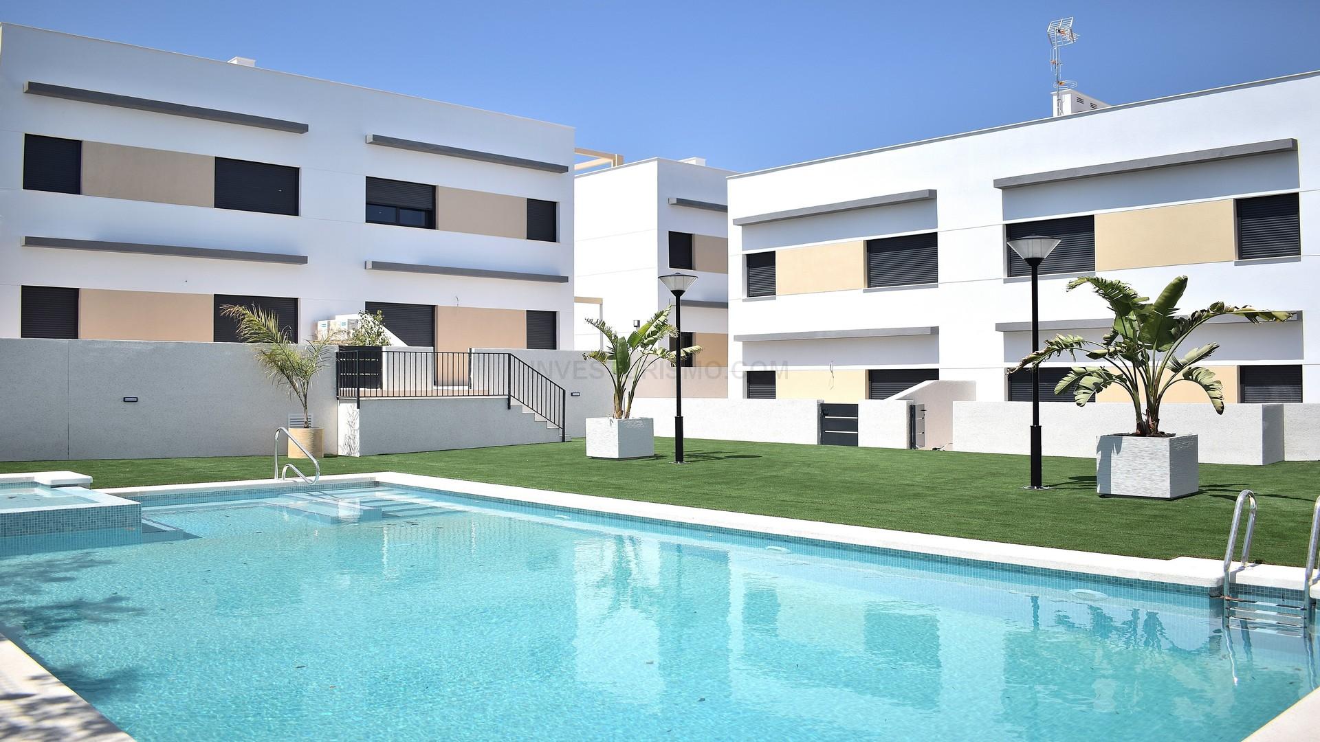New Build villas 3 bedrooms in Orihuela costa