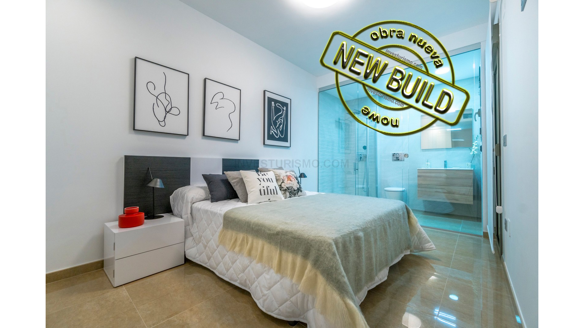 New build apartments 3 bedrooms 2 bathrooms in Torrevieja