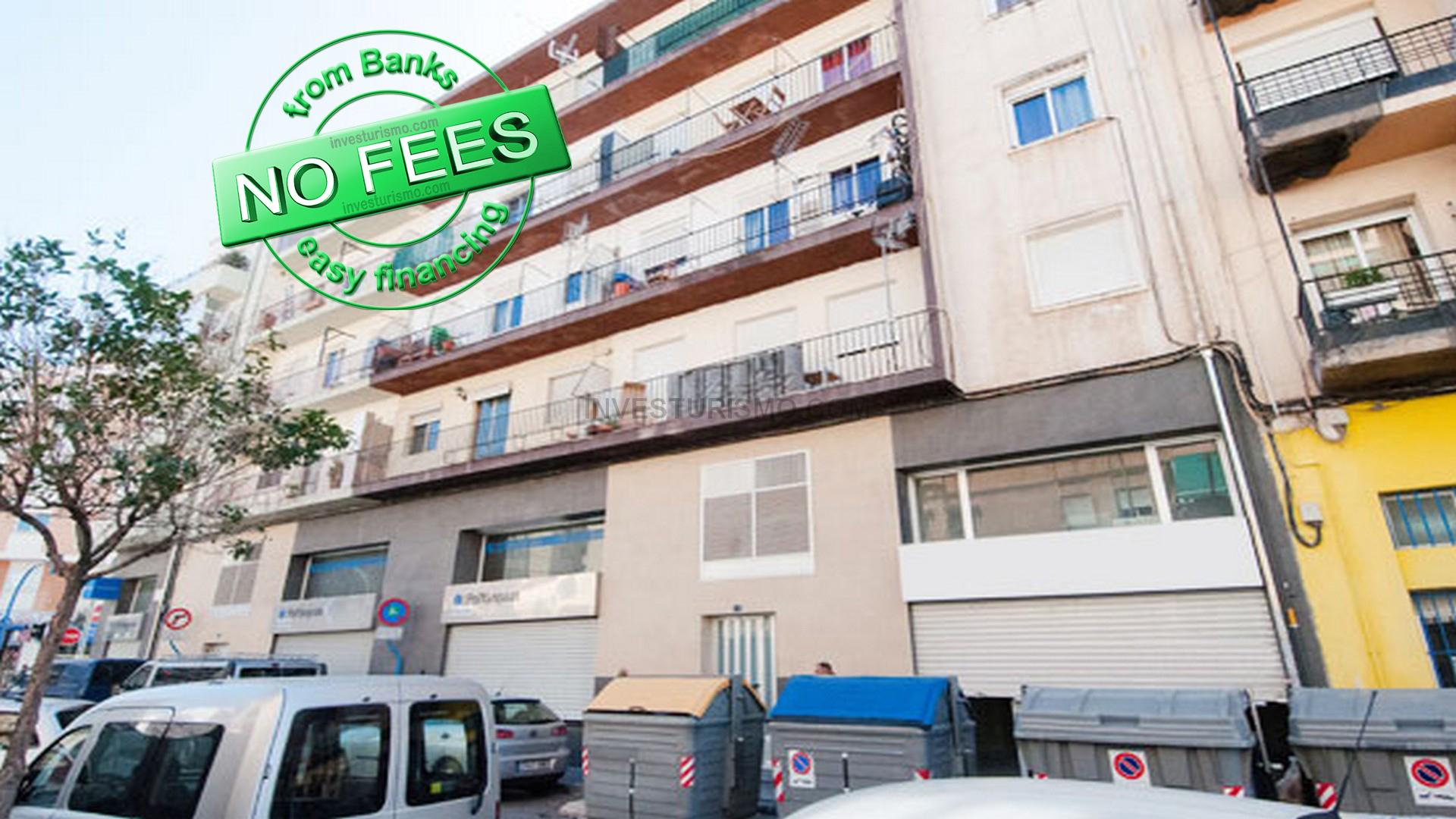 Apartment 3 bedrooms 1 bathroom in alicante
